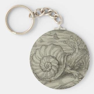 Snail Key Ring