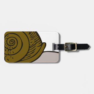 Snail Luggage Tag
