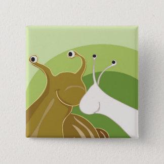Snail Mail 15 Cm Square Badge