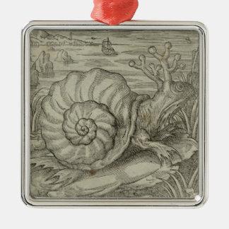 Snail Metal Ornament