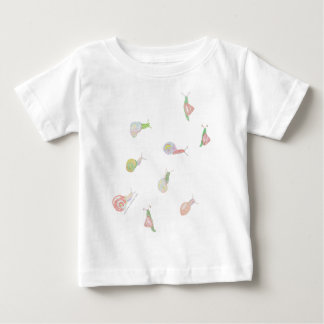 Snail Moss Habitat Baby T-Shirt