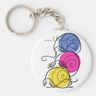 Snail Pile Keychain 2