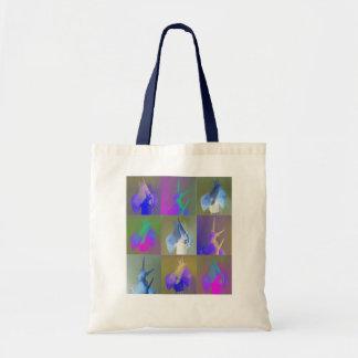 Snail Pop Art Tote Bag