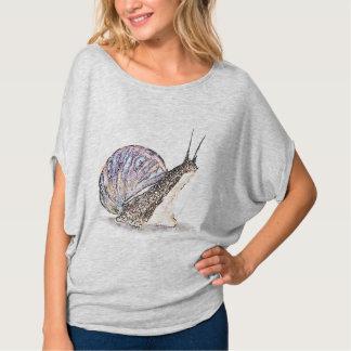 Snail. Poster T-Shirt