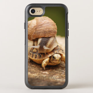 Snail Riding Baby Tortoise OtterBox Symmetry iPhone 8/7 Case