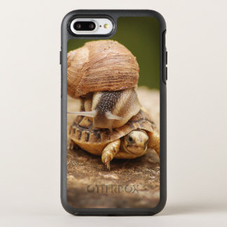 Snail Riding Baby Tortoise OtterBox Symmetry iPhone 8 Plus/7 Plus Case