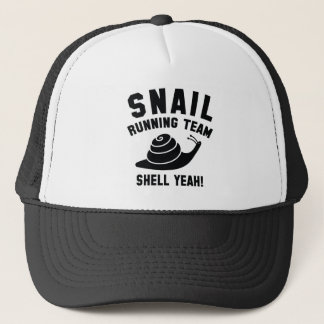 Snail Running Team Trucker Hat