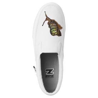 snail shoe printed shoes