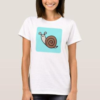 Snail T-shirt Cute Snail Graphic tee Slow Life Tee