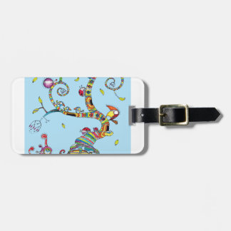Snail Tree Luggage Tag