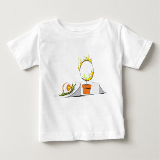 Snail vs Ring of Fire Baby T-Shirt