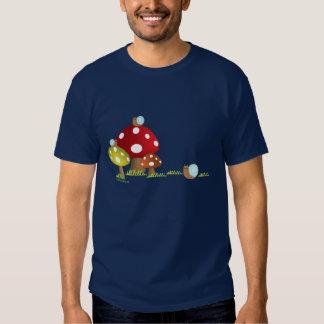 Snails and Mushrooms Shirt