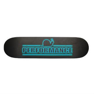 Snails pace performance. 19.7 cm skateboard deck