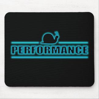 Snails pace performance. mouse pad