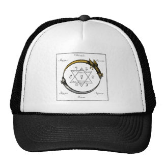 Snake and Dragon Ouroboros Cap