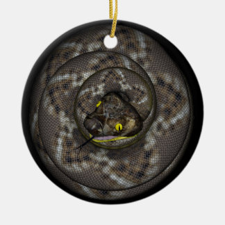 Snake Ceramic Ornament
