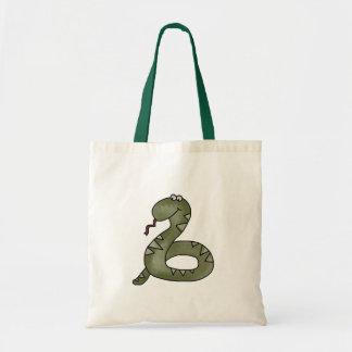 Snake Charmed Budget Tote Bag