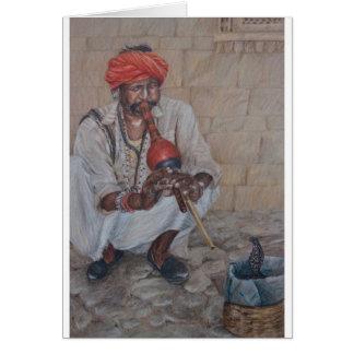 Snake Charmer, Jaipuir Card