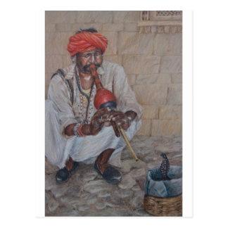 Snake Charmer, Jaipuir Postcards