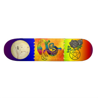 Snake Charming Witch Skate Boards