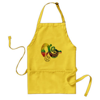 Snake Charming Witch Standard Apron