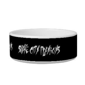 Snake City Playboys Pet Dish Pet Bowls
