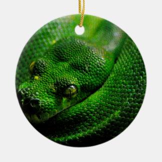 Snake Country Ceramic Ornament