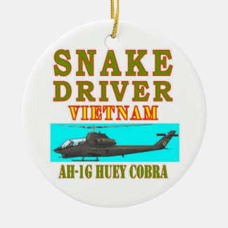 snAKE DRIVER VIETNAM Ceramic Ornament