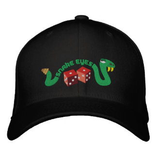 Snake Eyes Embroidered Hat