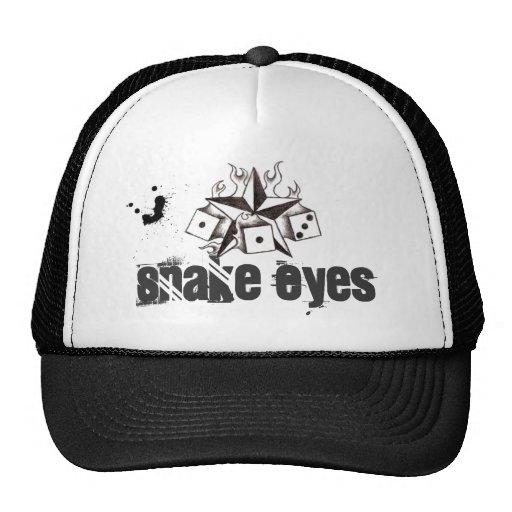 Snake Eyes Trucker Cap Mesh Hats