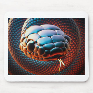 Snake head mouse pad