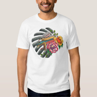 Snake in Rabbits Clothing Japanese Tattoo design T Shirt