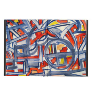 Snake In The Henhouse - Abstract Art Handpainted Cover For iPad Air