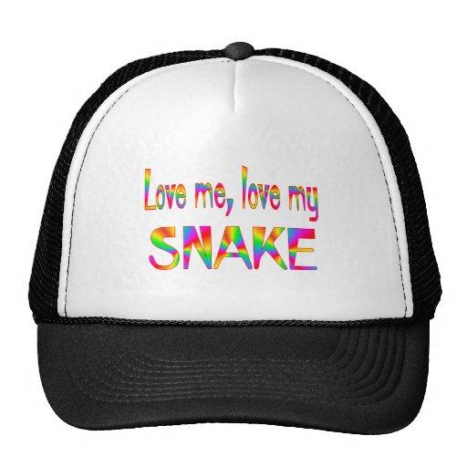 Snake Love Trucker Hats