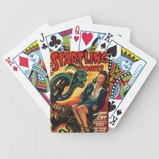 Snake Man Bicycle Playing Cards