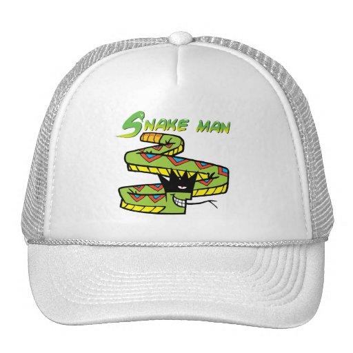 Snake Man Trucker Hat