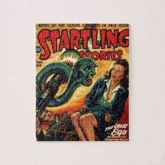 Snake Man Jigsaw Puzzle