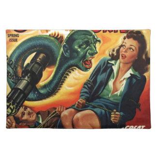 Snake Man Placemat