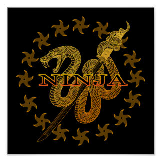Snake Ninja 01 Poster