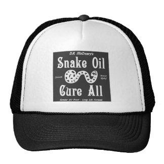 """""""Snake Oil"""" Hat"""
