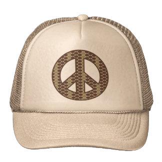 Snake Peace Symbol Cap