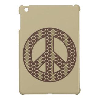 Snake Peace Symbol iPad Mini Cover