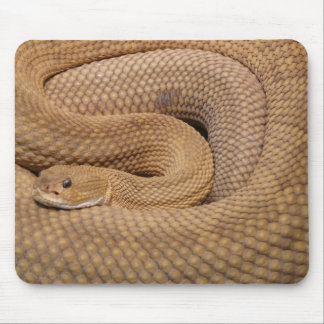 Snake Print Mouse Pad