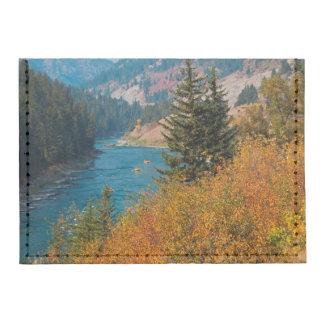 Snake River Canyon In Autumn Tyvek® Card Wallet