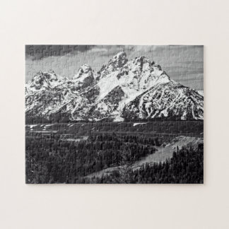 Snake River Curve - The Grand Tetons Puzzle