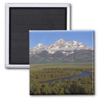 Snake River Grand Tetons Magnet