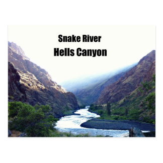 Snake RIver, Hells Canyon Postcard