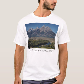 Snake River Overlook, Grand Teton National Park T-Shirt