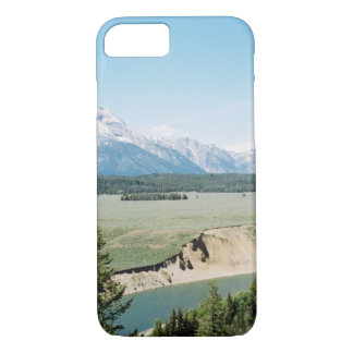 Snake River Overlook Towards Mount Moran iPhone 7 Case