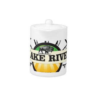snake river yellow art
